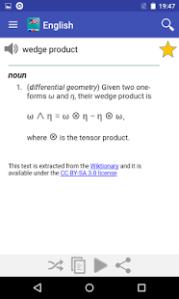 Free English Dictionary – Offline APK v2 8 for Android by livio